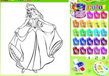 Juego de Colorear Princesas