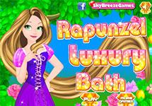 Juego de Vestir Rapunzel