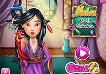 Juego de Vestir Mulan