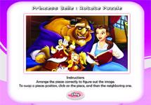 Juego de Puzzles Princesas