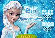 Juego de Vestir Elsa