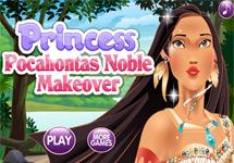Juego de Vestir Pocahontas